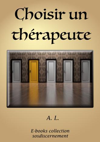 Choisir un thérapeute