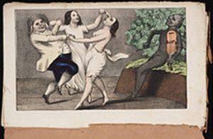 mormon et ses deux femmes 1850