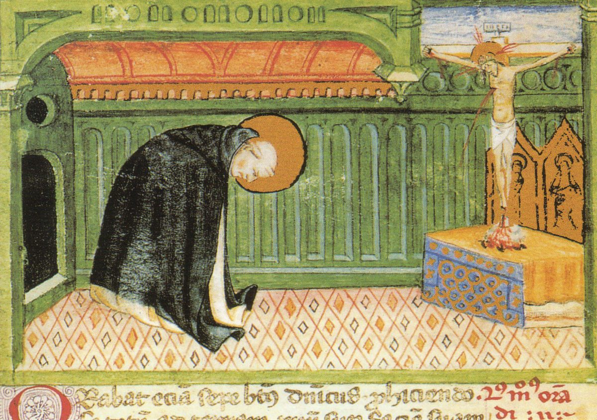 Neuf manières de prier avec son corps à la manière de saint Dominique